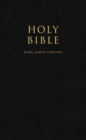 The Holy Bible: King James Version (KJV) Popular Gift & Award Black Leatherette Edition - Book