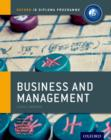 Ib Business and Management Course Book: Oxford Ib Diploma Programme : For the Ib Diploma - Book