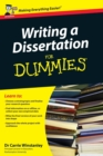 Writing a Dissertation For Dummies - Book