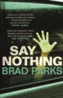Say Nothing - Book