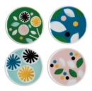 Lorena Siminovich Porcelain Coaster Set - Book