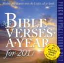 365 Bible Verses-A-Year for 2017 - Book