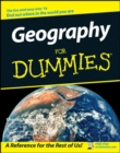 Geography for Dummies - Book