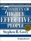 The 7 Habits of Highly Effective People : Powerful Lessons in Personal Change (25th Anniversary Edition) - eBook
