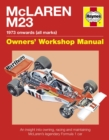 McLaren M23 : 1973 Onwards (All Marks) - Book