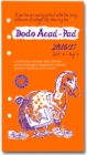 Dodo Acad-Pad 2016 - 2017 Filofax-Compatible Personal Organiser Diary Refill Mid Year / Academic Year, Week to View : A Doodle-Memo-Message-Engagement-Calendar-Organiser-Planner for Students & Teacher - Book
