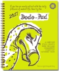 Dodo Pad Desk Diary 2017 - Calendar Year Week to View Diary : The Original Family Diary-Doodle-Memo-Message-Engagement-Organiser-Calendar-Book with Room for Up to 5 People's Appointments/Activities - Book
