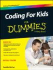Coding for Kids For Dummies - Book