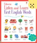 Listen and Learn First English Words - Book