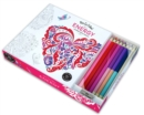 Vive le Color! Energy (Coloring Book and Pencils) : Color Therapy Kit - Book