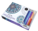 Vive le Colour! Meditation (Adult Colouring Book and Pencils) : Colour Therapy Kit - Book