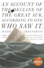An Account of the Decline of the Great Auk, According to One Who Saw It : A John Murray Original - eBook