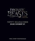 Fantastic Beasts and Where to Find Them : Newt Scamander Deluxe Stationery Set - Book