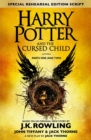 Harry Potter and the Cursed Child - Parts One and Two (Special Rehearsal Edition) : The Official Script Book of the Original West End Production - eBook