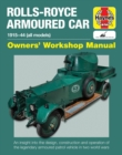 Rolls Royce Armoured Car Manual - Book