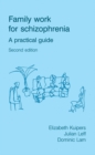 Family Work for Schizophrenia : A Practical Guide - Book
