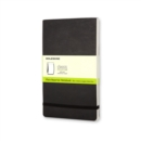 Moleskine Soft Cover Large Plain Reporter Notebook - Book