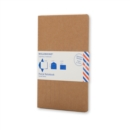 Moleskine Postal Notebook - Pocket Kraft Brown - Book