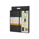 Moleskine Pocket Notebook and Classic Click Roller Pen - 0.5mm - Book