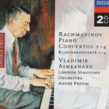 Rachmaninov: Piano Concertos 1-4, CD / Album