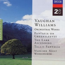 Vaughan Williams: Greensleeves, Etc. (Marriner/ Wordsworth/ Boult, CD / Album Cd