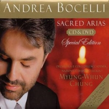 Andrea Bocelli: Sacred Arias (Special Edition), CD / Album with DVD Cd