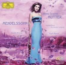 Mendelssohn: Anne-Sophie Mutter, CD / Album with DVD