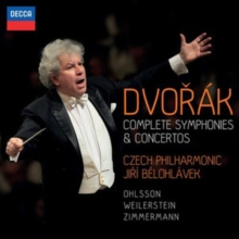 Dvorák: Complete Symphonies & Concertos, CD / Box Set Cd