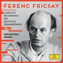 Ferenc Fricsay: Complete Recordings On Deutsche Grammophon: Orchestral Works, CD / Box Set