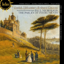 English 18th Century Keyboard Concertos, CD / Album