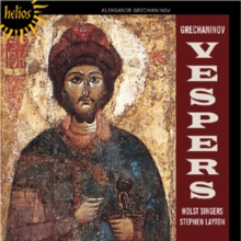 Grechaninov: Vespers, CD / Album