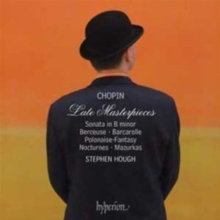 Chopin: Late Masterpieces, CD / Album