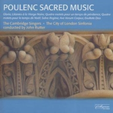 Poulenc: Sacred Music (The Cambridge Singers / Rutter), CD / Album