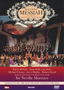 Handel's Messiah: 250th Anniversary Performance, DVD