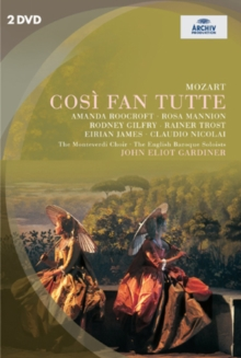 Cosi Fan Tutte: The Monteverdi Choir (Gardiner), DVD  DVD