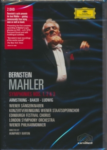 Mahler: Symphony Nos.1, 2 and 3, DVD  DVD