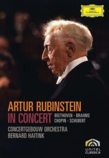 Artur Rubinstein: In Concert, DVD