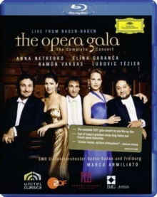 The Opera Gala - The Complete Concert Live from Baden-Baden, Blu-ray