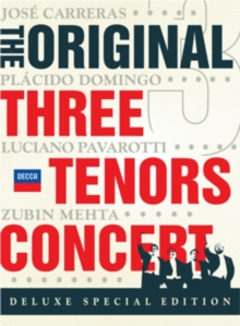 The Three Tenors: In Concert, DVD