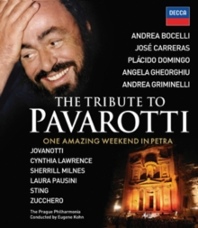 The Tribute to Pavarotti - One Amazing Weekend in Petra, Blu-ray