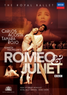 Romeo and Juliet: The Royal Ballet (Gruzin), DVD