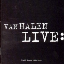 Van Halen Live:: Right Here, Right Now, CD / Album Cd