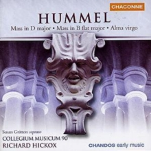Hummel: Mass in D Major/Mass in B Flat Major/Alma Virgo, CD / Album