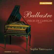 Balbastre: Pieces De Clavecin, CD / Album Cd