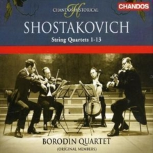 String Quartets 1 - 13 (Borodin Quartet), CD / Album Cd