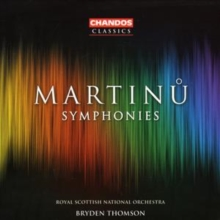 Symphonies (Thomson, Rsno), CD / Album Cd