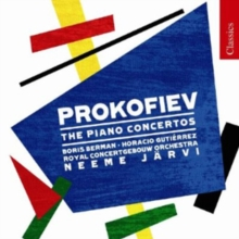 Prokofiev: The Piano Concertos, CD / Album Cd