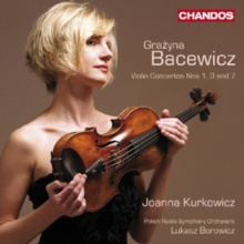 Violin Concertos Nos 1, 3 and 7, CD / Album