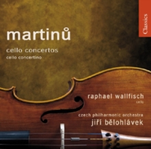Bohuslav Martinu: Cello Concertos, CD / Album