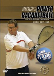 Secrets of Power Racquetball: Tips for Advanced Players, DVD